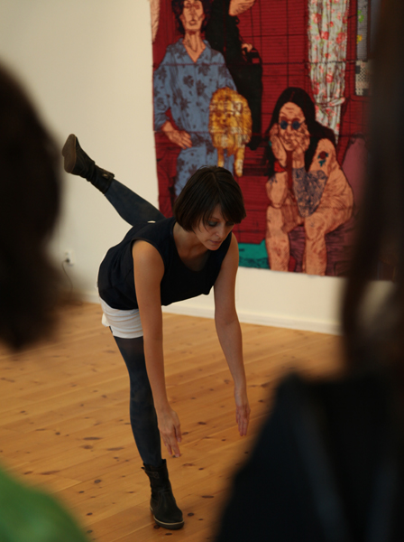 Pop up dance, Eskilstuna konstmuseum 2010