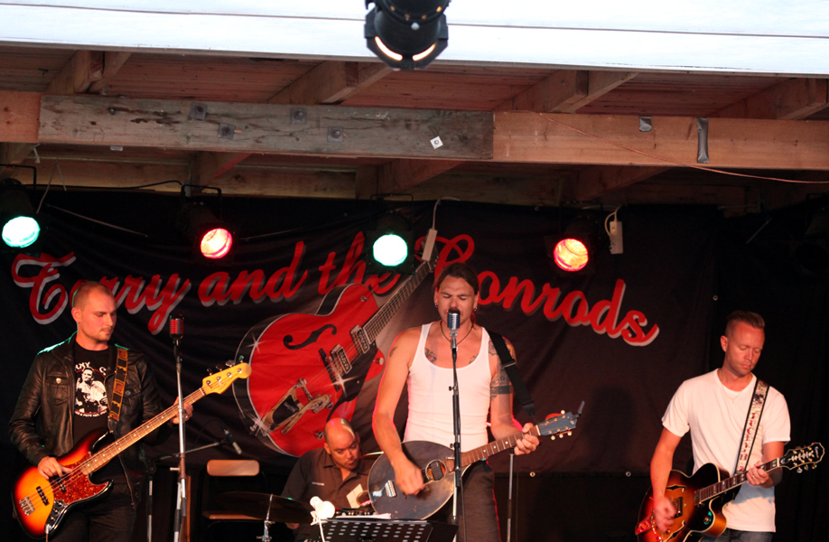 Terry And The Conrods, Vinöns Värdshus 2011